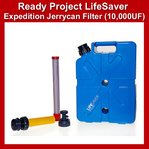Lifesaver Expedition JerryCan w/Filter 10,000UF (SM100364)