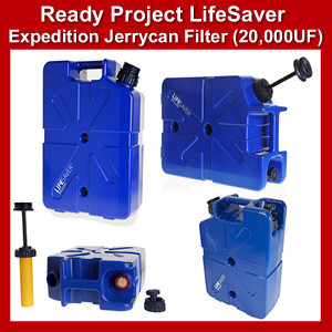 Lifesaver Expedition JerryCan w/Filter 20,000UF (SM100365)