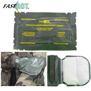 FAST-ACT® Chemical Decontamination Mitt (FG015-1840-00NS)