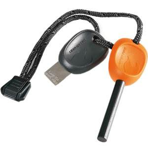 Swedish Firesteel Scout 2.0 with Emergency Whistle - Orange (S-FSSC2 - Orange)