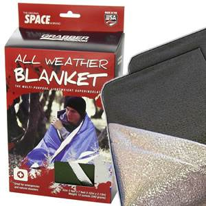 "SPACE® Brand All Weather Blanket - 60"" x 84"" - OLIVE DRAB (SM-8313AWBGR)"