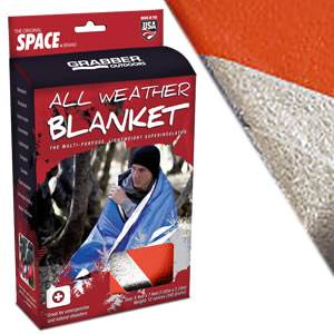 "SPACE® Brand All Weather Blanket - 60"" x 84"" - ORANGE (SM-8813AWBOR)"
