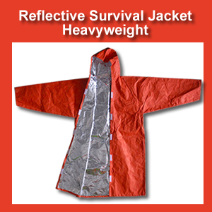 Heavyweight Reflective Survival Jacket (SM119)