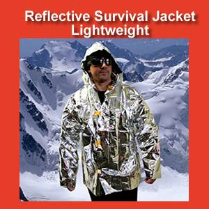 Lightweight Reflective Survival Jacket (SM118)