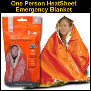 SOL Heatsheets Emergency Blanket (SM0140-0222)