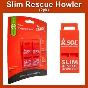 Slim Rescue Howler (SM0140-0010)