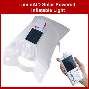 LuminAid Inflatable Solar Powered Light (luminaid)