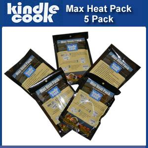 Kindle Cook Flameless Max Heat Pack of 5 (KC-HP60)