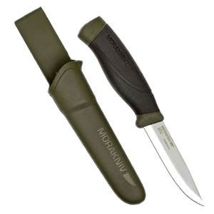 Morakniv® Companion Heavy Duty Knife - Military Green (MG) (M-12494-Military-Green-MG)