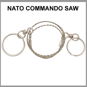 NATO Commando & Survival  Wire Saw (SM71010)