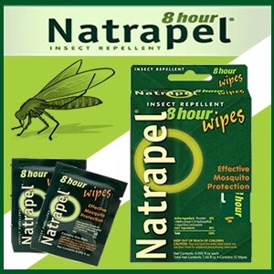 Natrapel Wipes 12 Per Box (SM0165-6095)