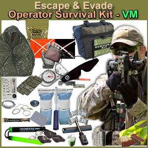 (10) Escape & Evade® Operator Military Survival Kit (VM) (10EEOMSK-VM)
