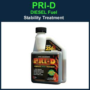 PRI-D Diesel Fuel Long Term Storage Stabilizer - 16 oz (CP513)
