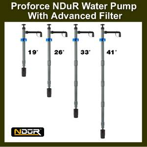 NDuR Water Pump w/advanced Filter (SM52070)