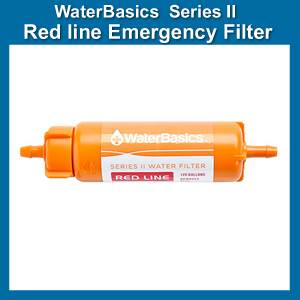 Aquamira WaterBasics Replacement Filter Red Line (SM67259)