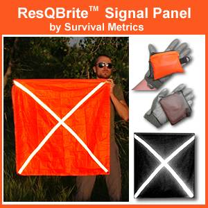 ResQBrite Signal Panel (TM) by Survival Metrics (RESQ-S)