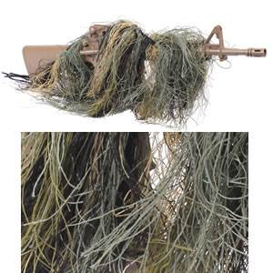Rifle Ghillie Rag Concealment Cover (SM95120)