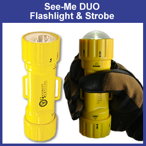 See-Me Duo Light - Strobe & Flashlight (85-51142-CRD)