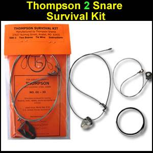 Thompson 2 Snares Survival Kit (SK-1)
