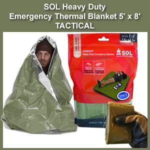 SOL Heavy Duty Emergency Blanket - Thermal, Tactical (0140-1225)