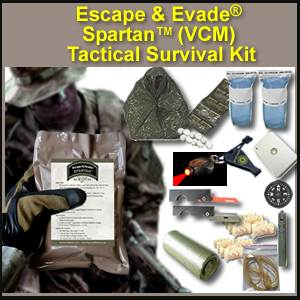 Escape & Evade® Spartan Tactical Survival Kit (VCM) (EESTSK-VCM)