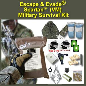 Escape & Evade® Spartan Military Survival Kit (VM) (EESMSK-VM)