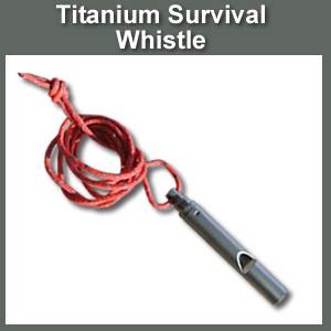 Titanium Rescue Whistle (SM119089)
