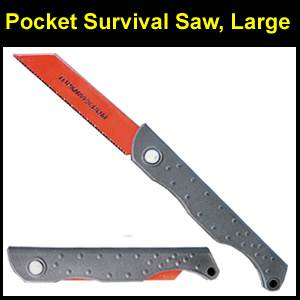 Pocket Survival Saw, Large, 14 TPI (PSSW)