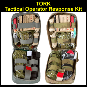 TORK Tactical Operator Response Kit with ChitoGauze Pro (85-0013-0017)