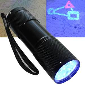 UV Flashlight - LED (SM-UVLED)