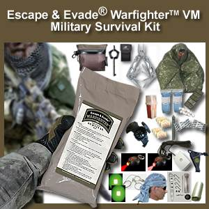 Escape & Evade® WarFighter Military Survival Kit (VM) (EEWMSK-VM)