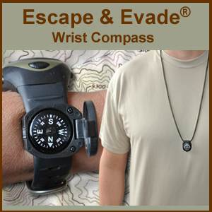 Escape & Evade® Wrist Compass (EEWC)
