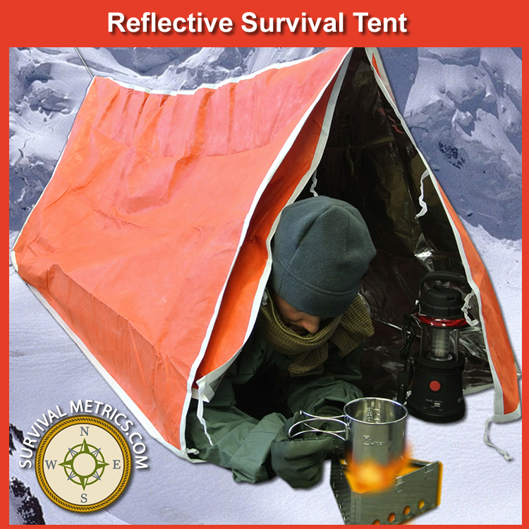 Reflective Survival Tent - Two Person (SM117) : reflective tent - memphite.com