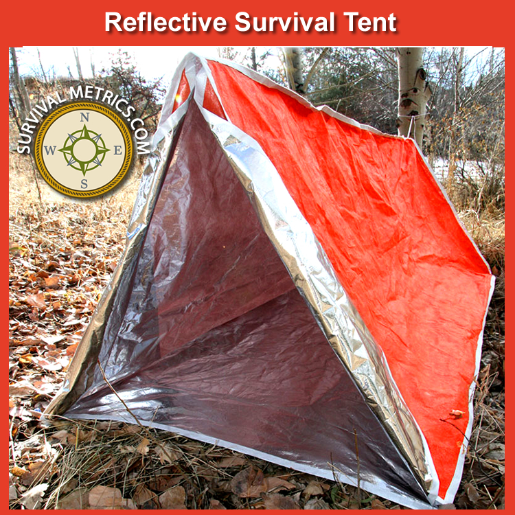 Reflective Survival Tent - Two Person (SM117) & Reflective Survival Tent - Two Person (SM117) | SurvivalMetrics ...