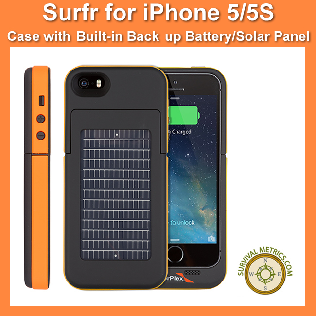 EnerPlex Surfr Battery And Solar Case (SMSurfr