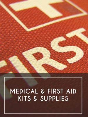 (5) Medical & First Aid Kits & Supplies