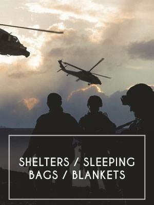 Shelters / Sleeping Bags / Blankets