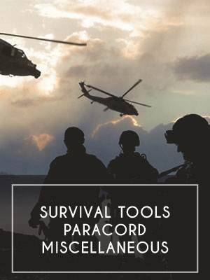 Survival Tools / Paracord / Miscellaneous