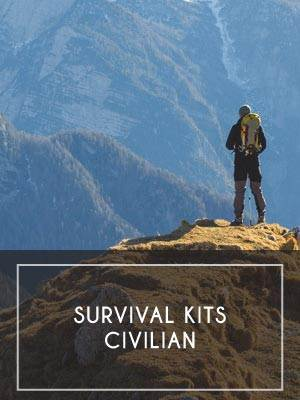 (2) Survival Kits — Civilian