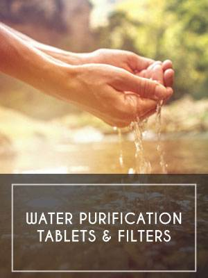 Water Purification Tablets & Filters