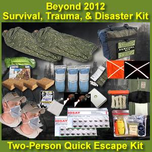 Beyond 2012 Survival, Trauma, and Disaster 2 Person Escape Kit (beyond2012kit)