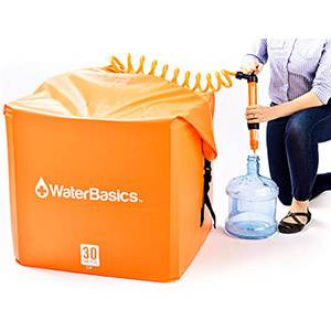 WaterBasics™ 30 Gallon Water Storage Kit with Filter (SM67262)