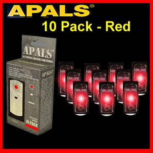 APALS® 10 Pack  - Red - Survival Signals (APALS10-RED)