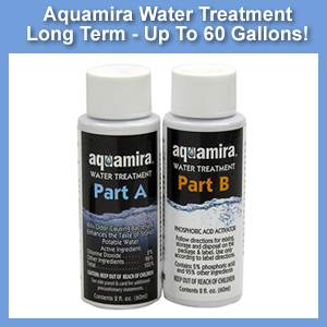 Aquamira 60 Gallon Chlorine Dioxide Water Treatment Solution (SM67203)