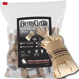 Bear Claw Glove Kit - Nitrile - Tactical (SM-ZZ-0248-49)