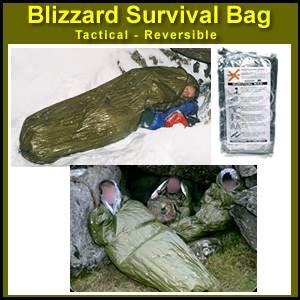 Blizzard Survival Sleeping Bag Bivvy Tactical