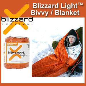 Blizzard Light™ Survival Bivvy / Blanket (SMBPS2-10)