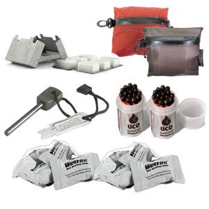''Bomb-Proof'' Survival Firestarting/Stove Kit (BOMBPROOF)