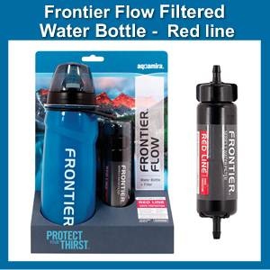 Aquamira Frontier Flow Water Purification Bottle (SM67026)