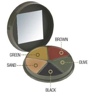 CamCon Camouflage Cream Compact - 5 Color (SM-61350)